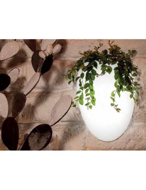 Vaso a parete mod. Cozumel Luminoso - Linea Modum by Telcom