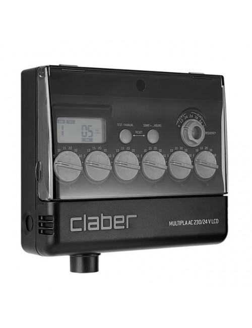 Centralina Multipla® AC 230/24 V LCDArt. 8058 Claber