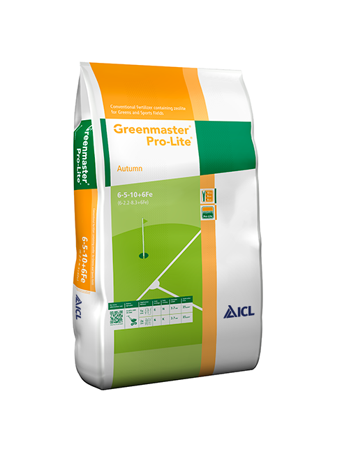 Greenmaster Pro-Lite Autumn 6-5-10+6Fe da 25 Kg - ICL Everris