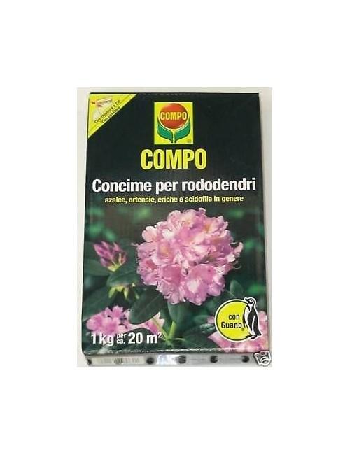 COMPO CONCIME PER RODODENDRI CON GUANO KG 3