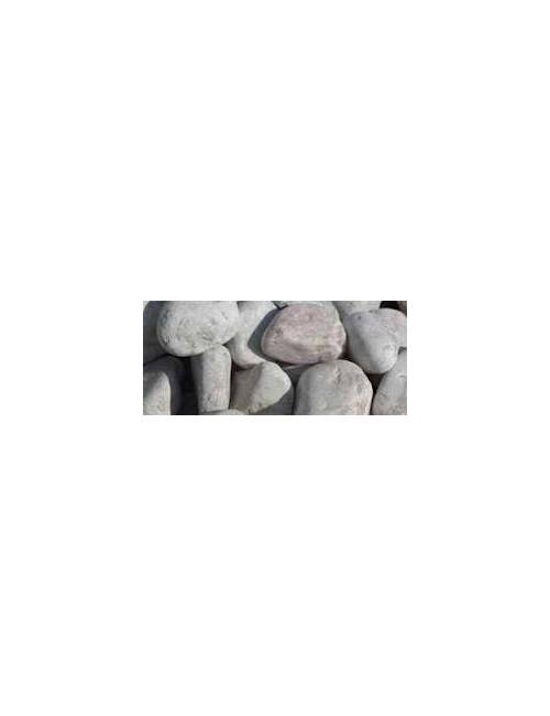 Pietre Decorative per giardino - Ciottoli Bianco Carrara  Mis. 16/25 -  conf da Kg 25