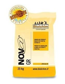Nov@ GR da 25 kg - Biolchim