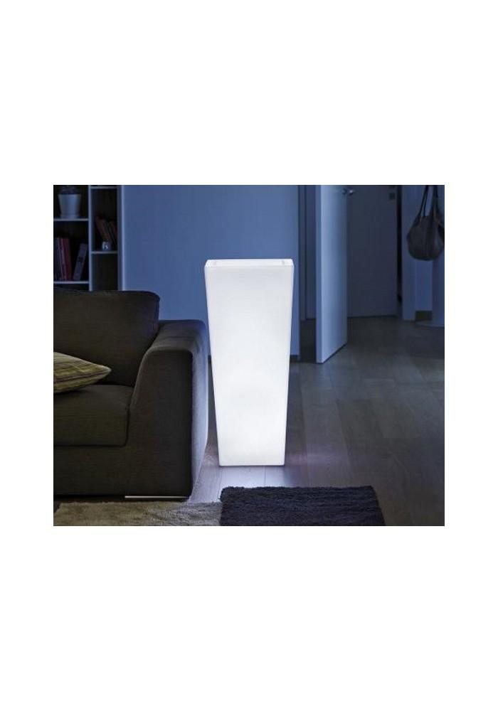 Vaso Quadro mod. Cecina h 85 Luminoso - Linea Vasar by Telcom