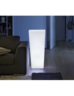 Vaso Quadro mod. Cecina h 95 Luminoso - Linea Vasar by Telcom