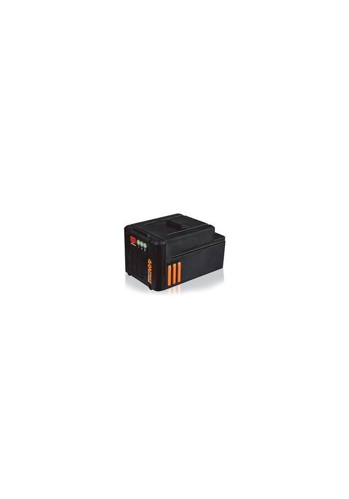 Batteria litio 40V 2.0 Ah WA3536 per macchine da giardino a batteria WORX