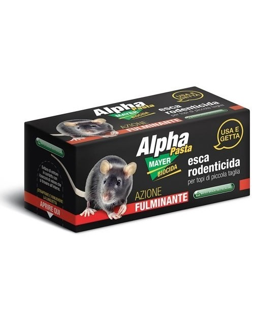 Alphamayer Pasta Box Pronto uso in blister da 2 pz- Mayer Braun