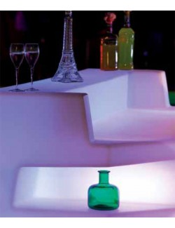 Bancone Bar Mod. Zanzibar Illuminabile -  Linea Modum by Telcom