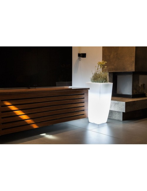Vaso Quadro Luminoso Kit Luce Led