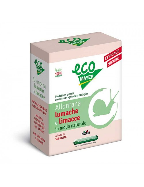 EcoLumache - Repellente Disabituante da 500 gr - Mayer Braun