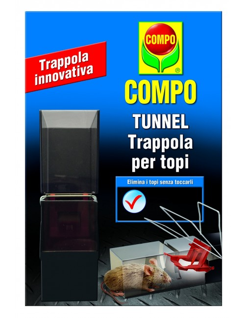 COMPO TUNNEL Trappola per topi