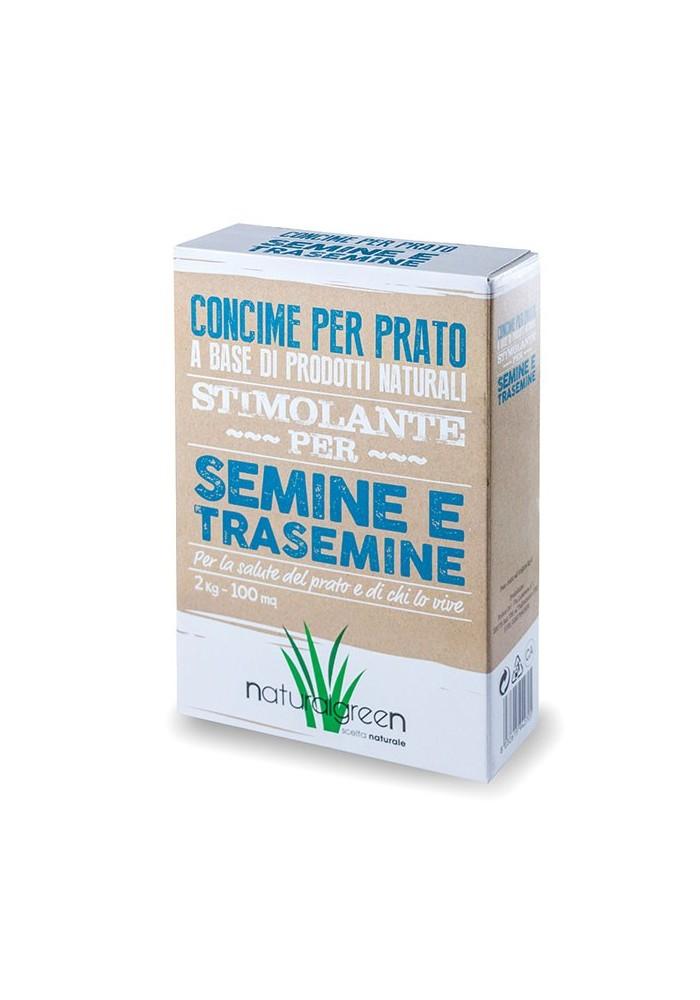 Naturalgreen Stimolante Semine e Trasemine da Kg 2 - Bottos