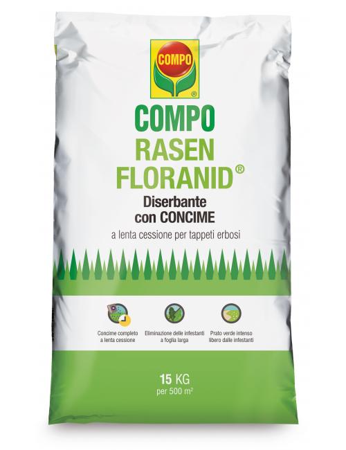Rasen Floranid con diserbante da 15 Kg - Compo