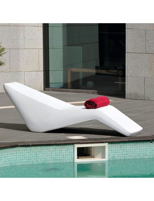 Chaise Lounge Lettino mod. Copacabana - Linea Modum by Telcom