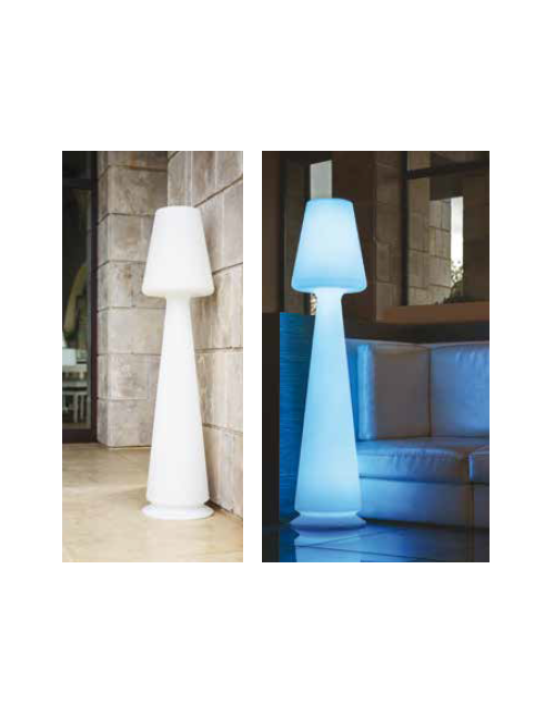 Lampada Chloe Led Multicolor - Monacis