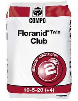Floranid Club®Twin 10-5-20+4+MgO da Kg 25 Compo