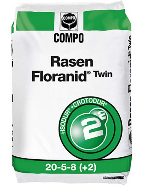 Floranid Rasen ®Twin 20-5-8+2+MgO da Kg 25 Compo