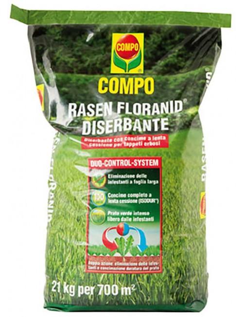 Floranid Rasen Diserbante da Kg 21 Compo