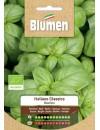 Basilico Italiano Classico Bio - Blumen