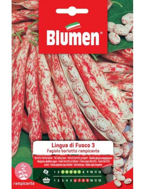 Fagioli Borlotti rampicanti Lingua di Fuoco da 250 gr - Blumen