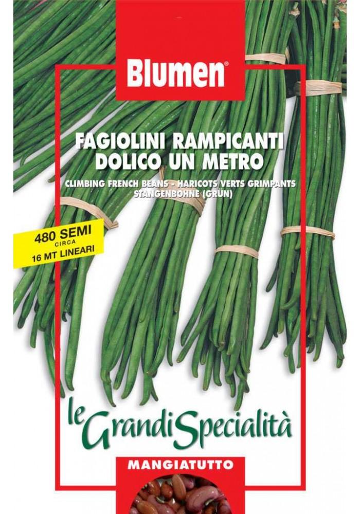 Fagiolini Rampicanti Dolico da 1 metro  - Blumen