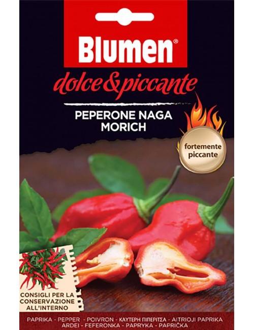 Peperone Naga Morich - Blumen