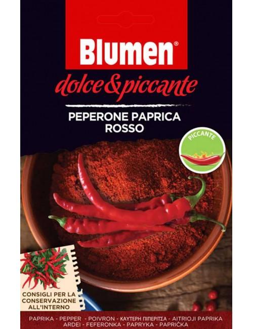 Peperone Paprica Rosso - Blumen