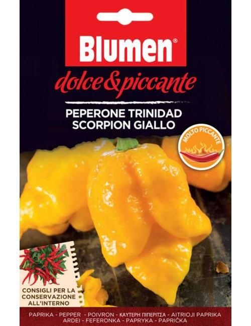 Peperone Trinidad  Scorpion Giallo - Blumen