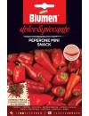 Peperone Dolce Mini Snack Rosso - Blumen