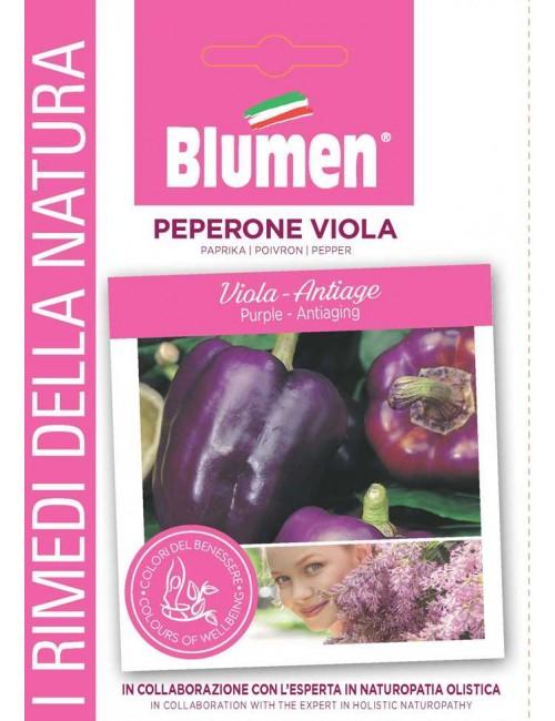 Peperone Viola - Blumen