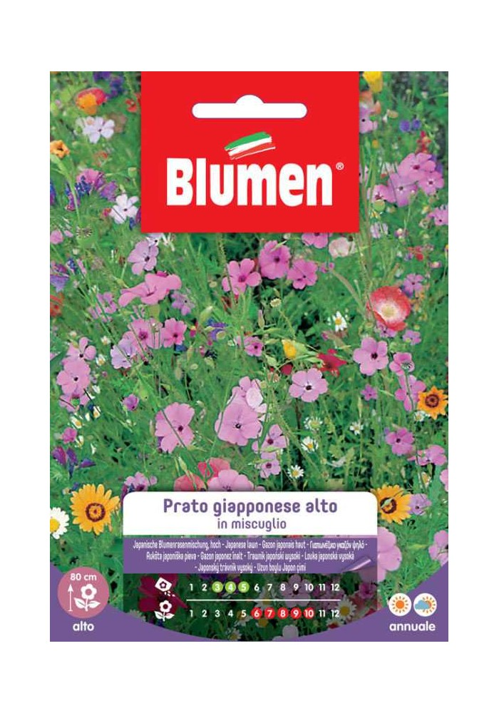 Prato Giapponese Alto - Blumen