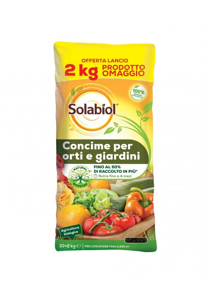 Concime Orti e Giardini offerta 10 Kg +2 - Solabiol