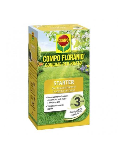 COMPO FLORANID STARTER CONCIME PRATO DA KG 1,250 X 50MQ