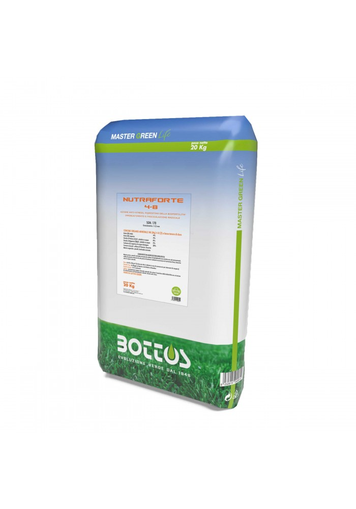 Nutraforte 4-3-8+2Mgo- da 20 Kg I Master Green Life I Bottos