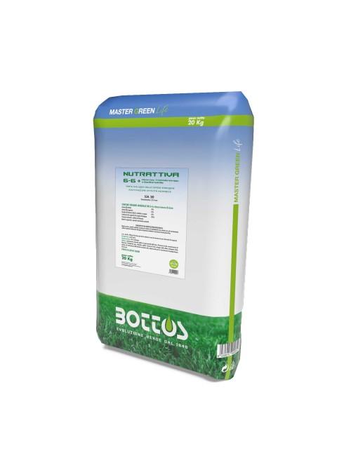 Nutrattiva 6-2-6+2Mgo- da 20 Kg I Master Green Life I Bottos
