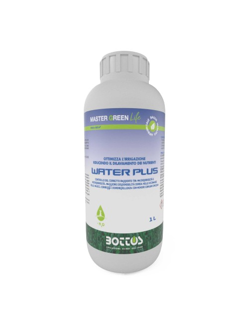 Water Plus da 1 lt - Master Green Life - Bottos