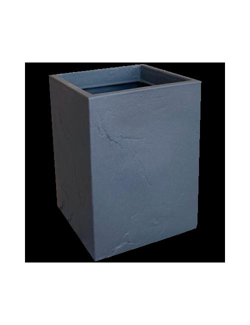 Vaso Cubo Mod. Ardesia - Linea Vasar by Telcom