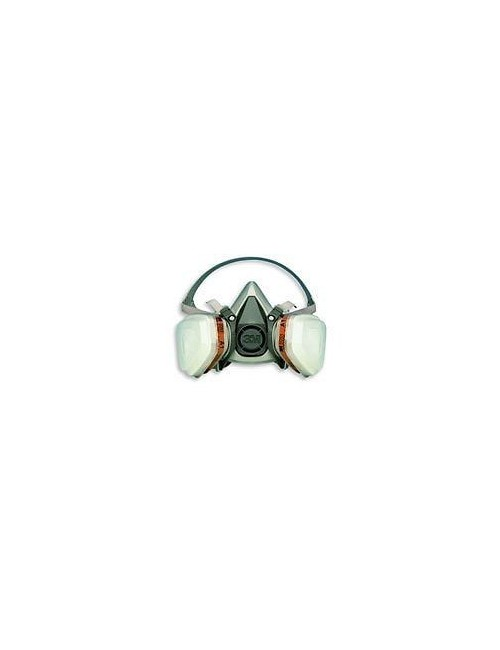 Semimaschera 3M mod. 6300 completa di filtri A2