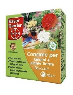 BAYER - BAYCOTE GERANI E PIANTE FIO. - CONCIME CESSIONE PROGR. -   DA 700 GRAMMI