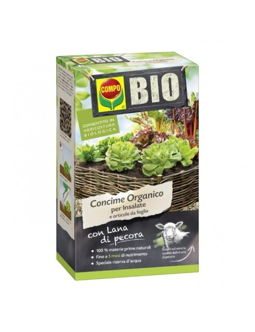 COMPO Bio Concime Organico per Insalate e orticole da foglia