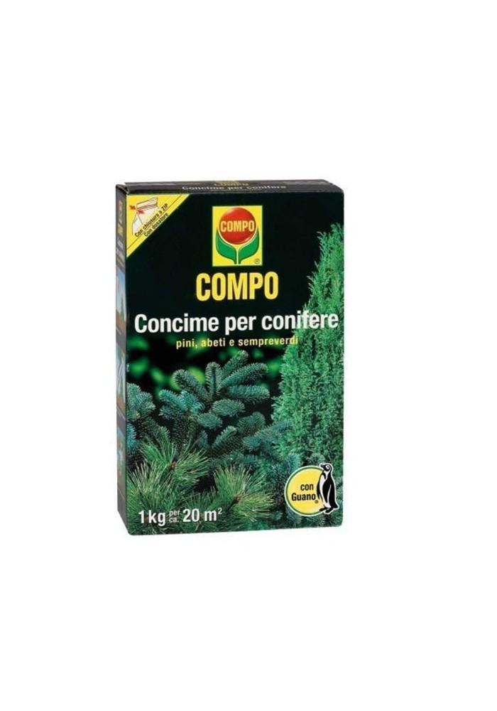 COMPO CONCIME PER CONIFERE CON GUANO KG 1