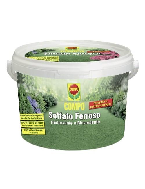 COMPO SOLFATO FERROSO RINVERDENTE 5 KG PER 250MQ