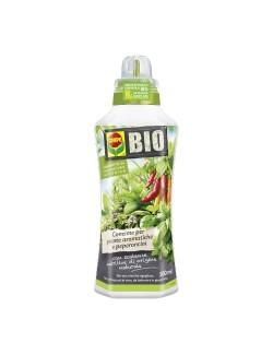 COMPO Bio Concime per Piante Aromatiche e Peperoncini da ml 500