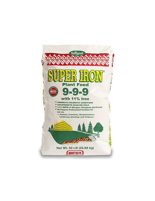 Super Iron 9-9-9+11 Fe da Kg 22,7 Bottos