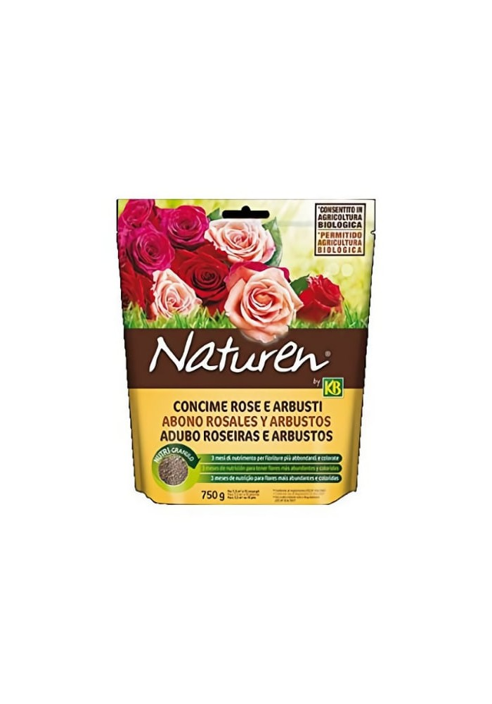 Concime Rose e Arbusti - Linea Naturen - KB