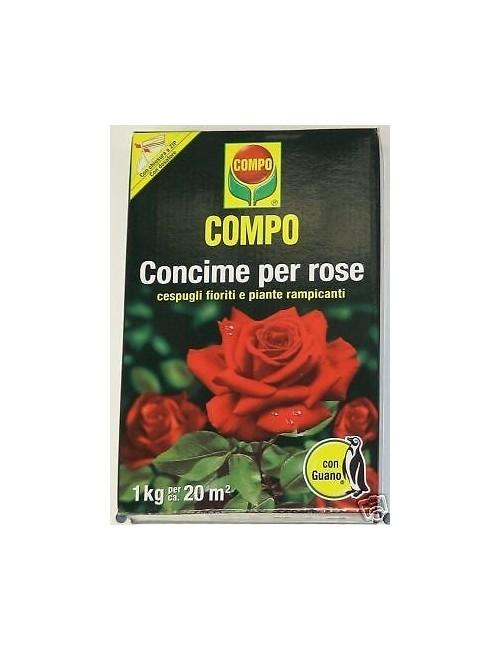 COMPO CONCIME PER ROSE CON GUANO KG 3