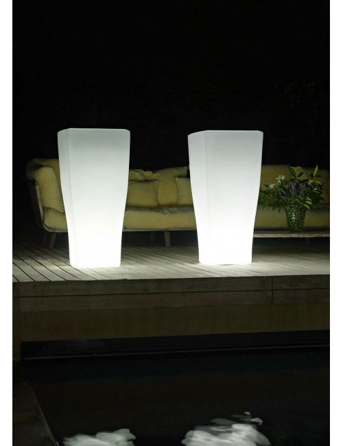 Vaso Quadrum Luminoso- Euro3plast