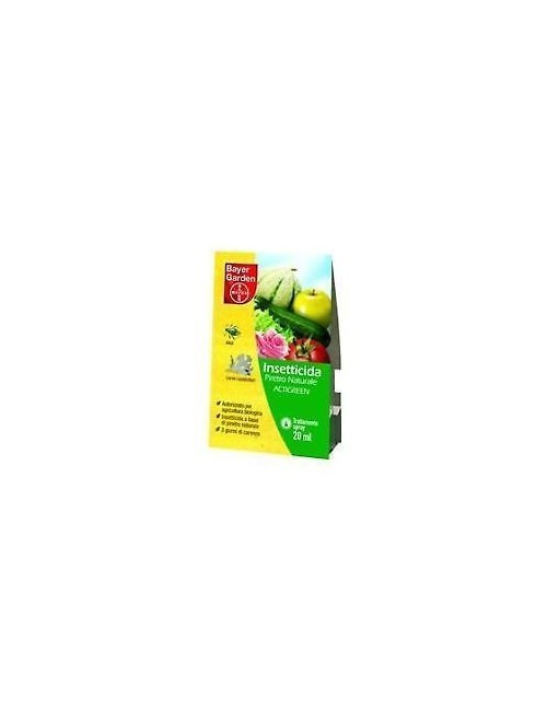 PIRETRO ACTIGREEN ML 20 - INSETTICIDA BIOLOGICO BAYER