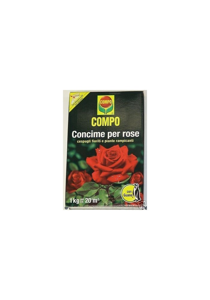 COMPO CONCIME PER ROSE CON GUANO KG 1